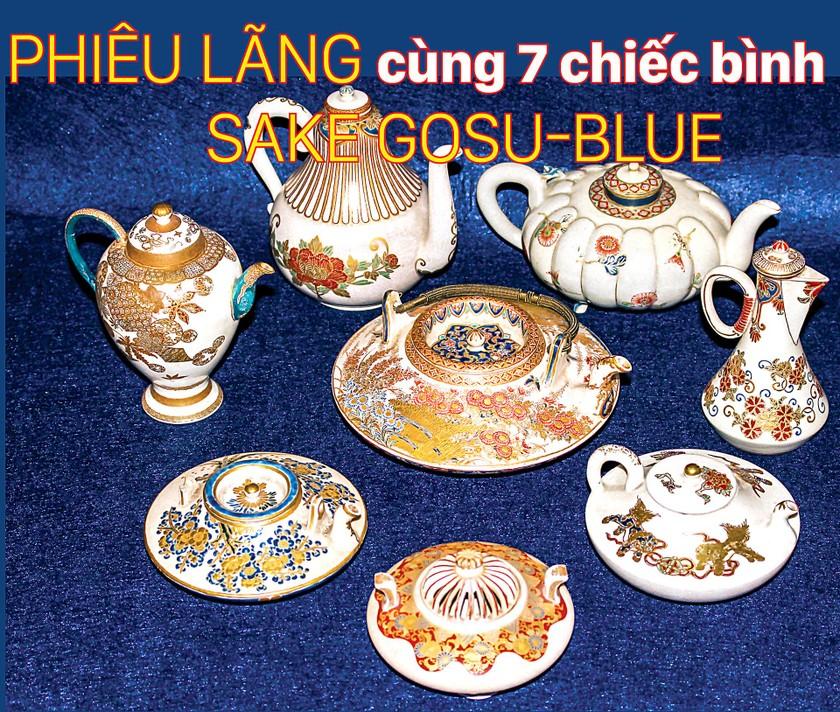Phiêu lãng cùng 7 chiếc bình Sake Gosu-Blue ảnh 1