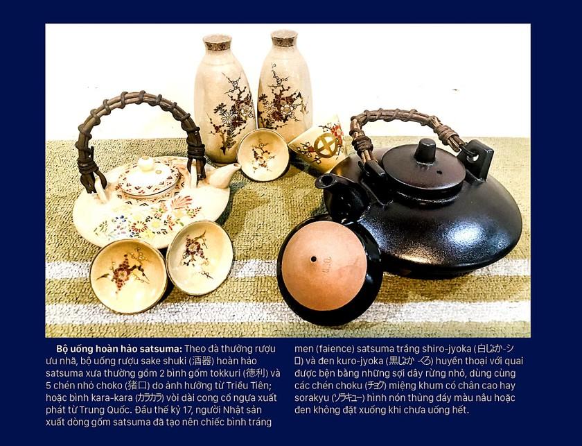 Phiêu lãng cùng 7 chiếc bình Sake Gosu-Blue ảnh 2