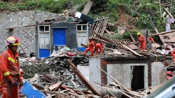 Bão Lekima tiếp tục hoành hành tại Trung Quốc, số người chết tăng ảnh 8