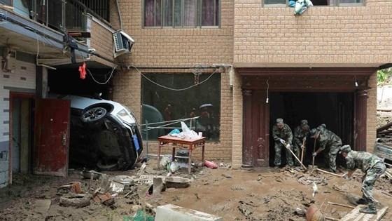 Bão Lekima tiếp tục hoành hành tại Trung Quốc, số người chết tăng ảnh 9