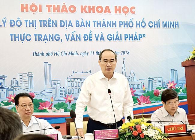 TPHCM: Quy hoạch đô thị còn nhiều bất cập ảnh 1