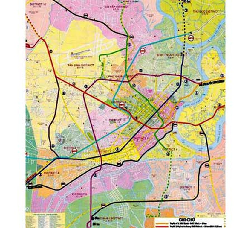 Spanish Metro Map.Pm Approves Spanish Funded Metro Line In Hcmc Ho Chi Minh City