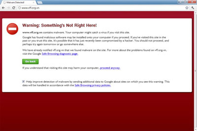 Many Vietnam websites 'blacklisted' by Google | Law | SGGP English