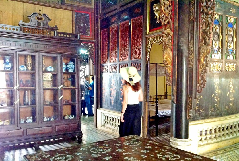 Huynh Thuy Le ancient house attracts visitors | Travel