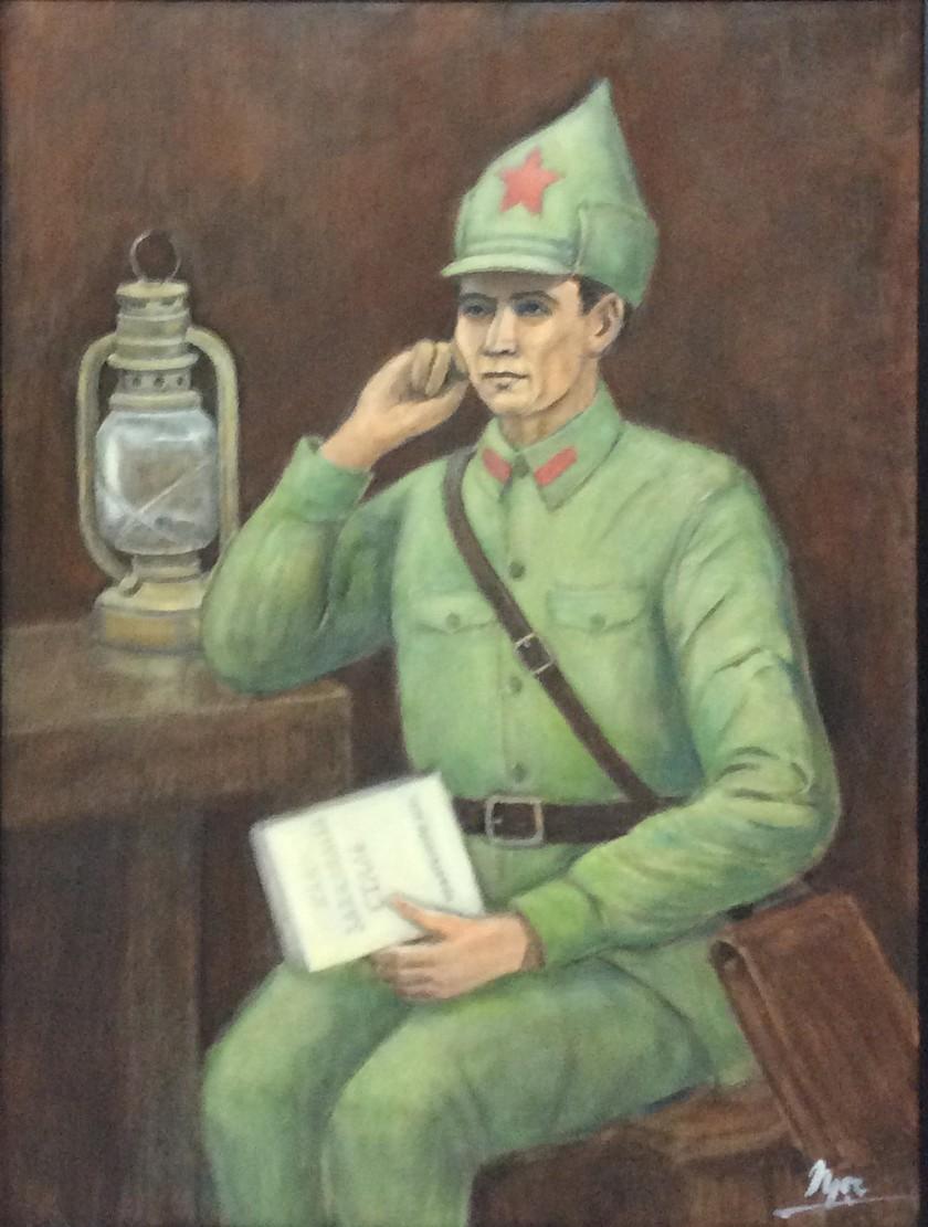 Kỷ niệm- Một thời Xô Viết qua 100 tác phẩm của họa sĩ Việt ảnh 1