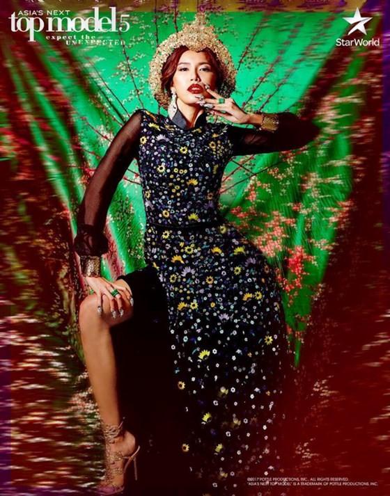 Minh Tú giành ngôi vị Á quân Asia's Next Top Model 2017 ảnh 1