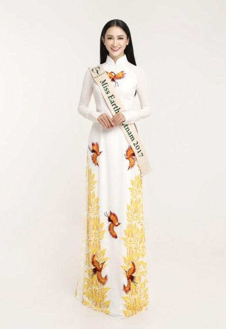 A hau Dai duong Ha Thu thi Hoa hau Trai dat 2017 - Anh 6