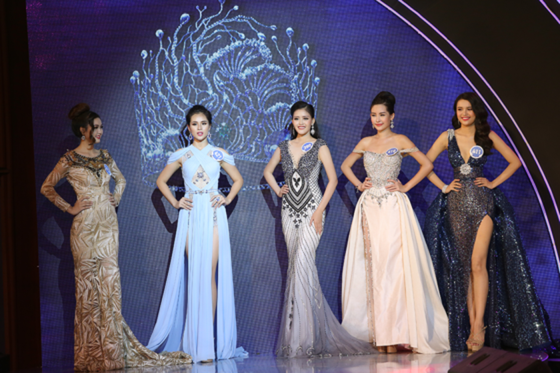 Người đẹp Lê Âu Ngân Anh đoạt vương miện Hoa hậu Đại Dương Việt Nam 2017 ảnh 2