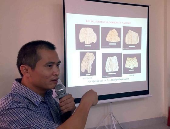 Thu được hàng ngàn mẫu di vật của nền Văn hóa Óc Eo tại An Giang ảnh 1
