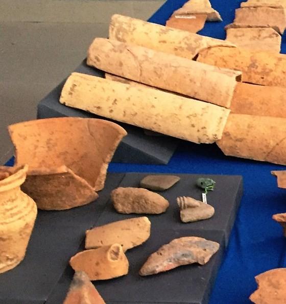 Thu được hàng ngàn mẫu di vật của nền Văn hóa Óc Eo tại An Giang ảnh 2