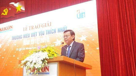 Sáng nay, Báo SGGP trao giải Thương hiệu Việt 2017 ảnh 1