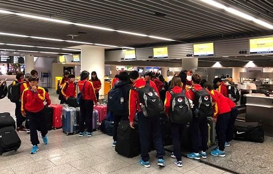 Đội tuyển nữ Việt Nam đến Jordan ảnh 3
