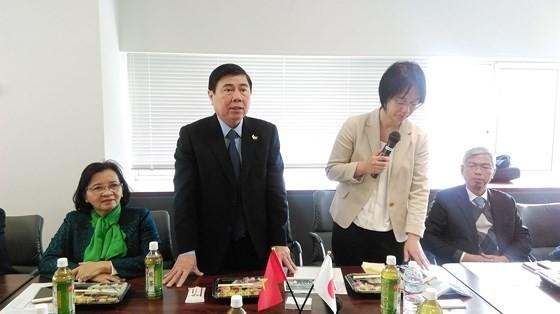 Trao đổi khả năng hợp tác về giáo dục với các trường đại học Nhật Bản ảnh 4