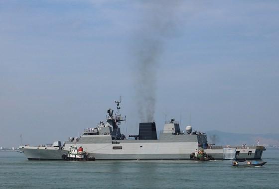 Hạm đội miền Đông Ấn Độ sẽ diễn tập hàng hải chung với Hải quân Việt Nam ảnh 1