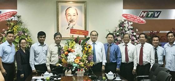 Bí thư Thành ủy Nguyễn Thiện Nhân thăm, chúc mừng Báo Sài Gòn Giải Phóng ảnh 3