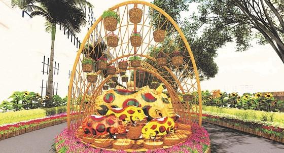 Hội chợ hoa xuân Phú Mỹ Hưng Tết Kỷ Hợi: Hoa và cuộc sống ảnh 2