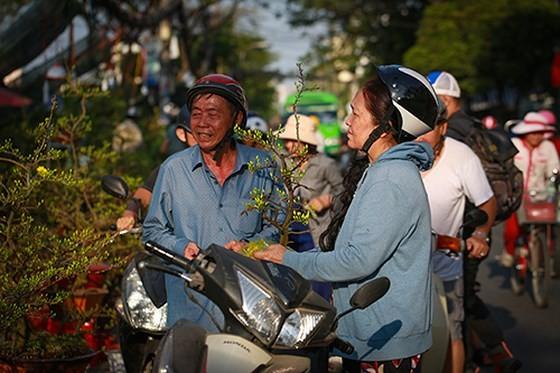 Chợ hoa xuân trên bến dưới thuyền… ảnh 9