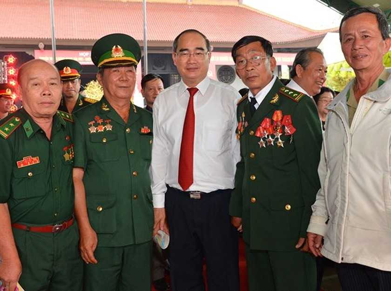 Họp mặt truyền thống Cách mạng Sài Gòn - Chợ Lớn - Gia Định- TPHCM ảnh 6