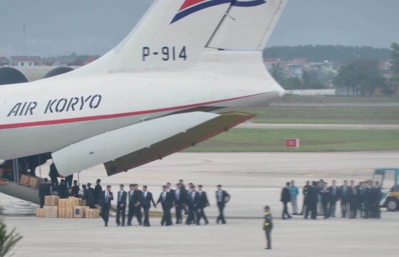 North Korean cargo plane arrives in Hanoi ảnh 1