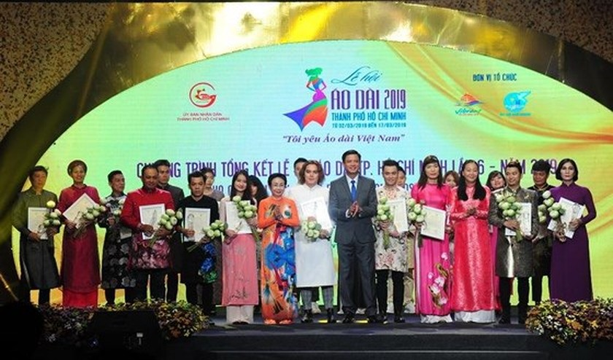 Ho Chi Minh City Ao Dai Festival 2019 wraps up ảnh 1