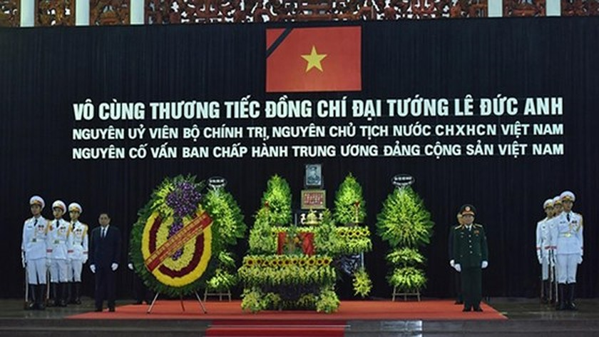 Memorial service of the State funeral for former President General Le Duc Anh ảnh 11