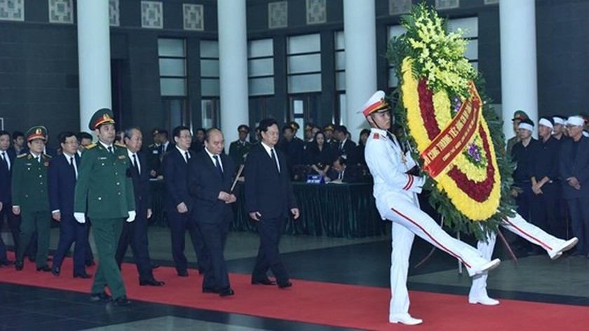 Memorial service of the State funeral for former President General Le Duc Anh ảnh 23