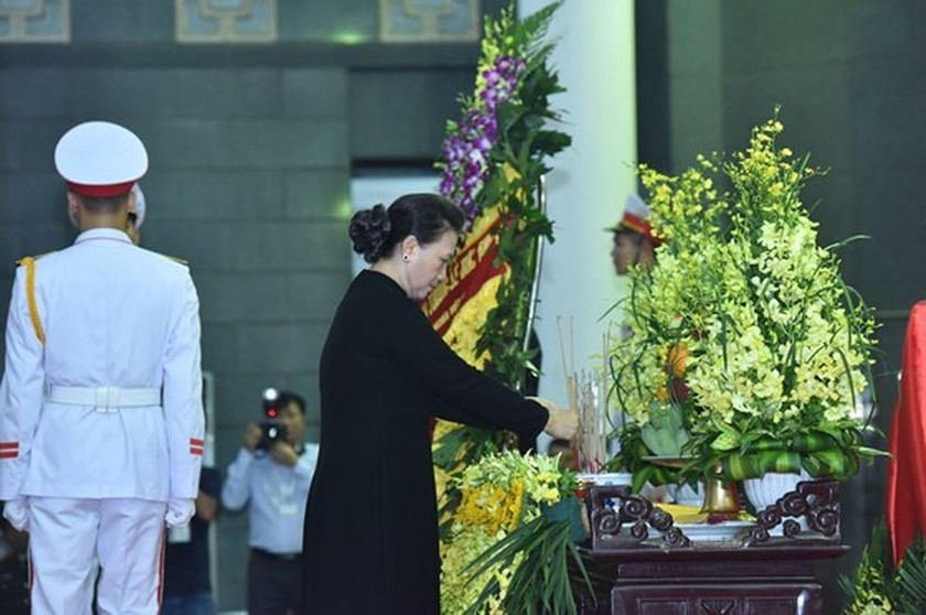 Memorial service of the State funeral for former President General Le Duc Anh ảnh 27