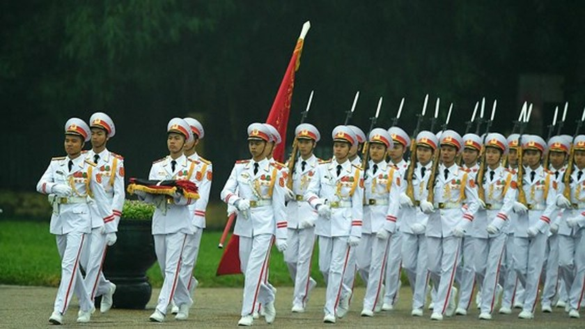Memorial service of the State funeral for former President General Le Duc Anh ảnh 3