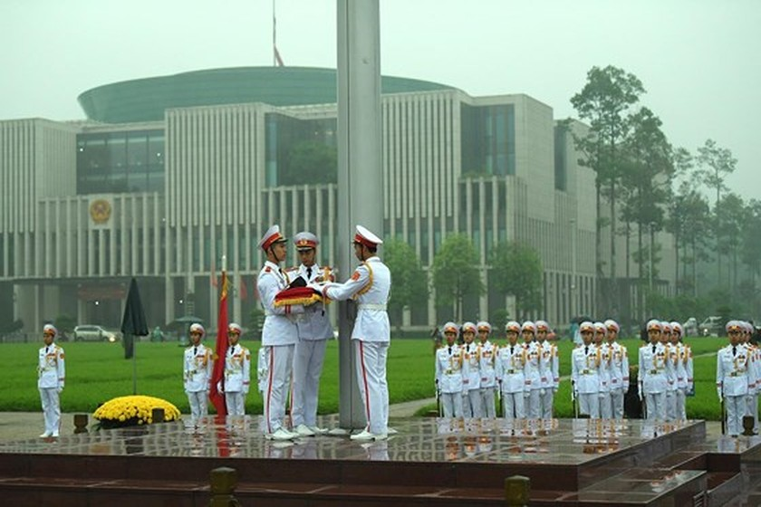 Memorial service of the State funeral for former President General Le Duc Anh ảnh 5