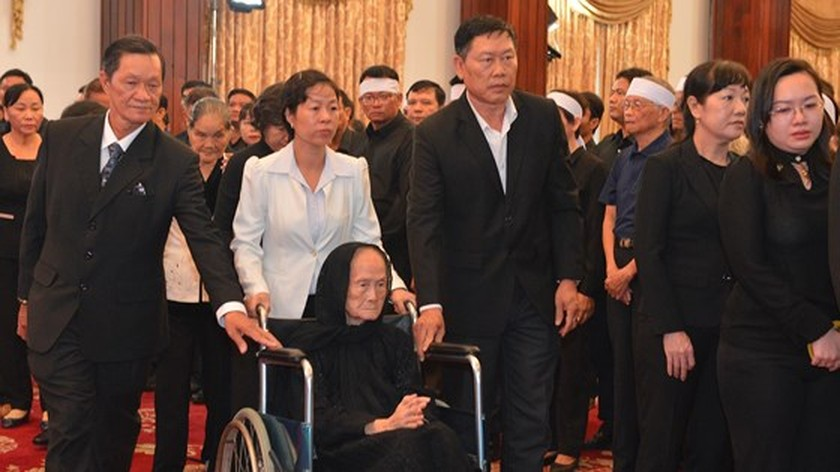Memorial service of the State funeral for former President General Le Duc Anh ảnh 58