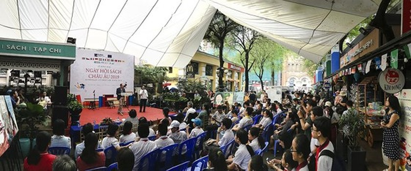 European Book Day 2019 opens HCMC ảnh 1