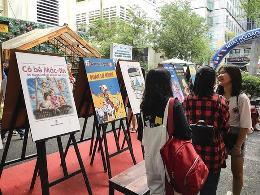 European Book Day 2019 opens HCMC ảnh 4