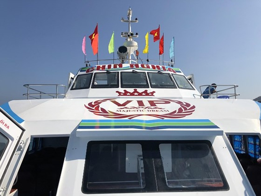 More Sa Ky-Ly Son high-speed boat launched ảnh 1