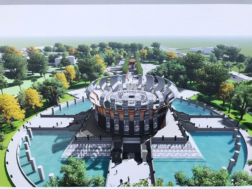 Work starts on Hung Kings Temple in Can Tho city ảnh 2