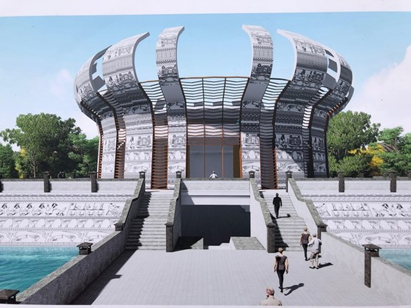 Work starts on Hung Kings Temple in Can Tho city ảnh 4