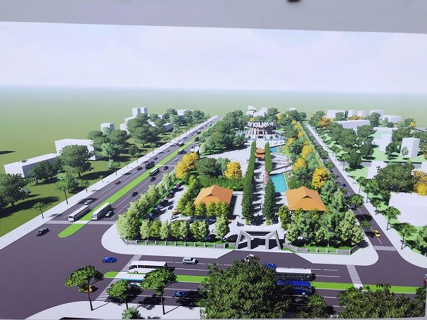 Work starts on Hung Kings Temple in Can Tho city ảnh 1