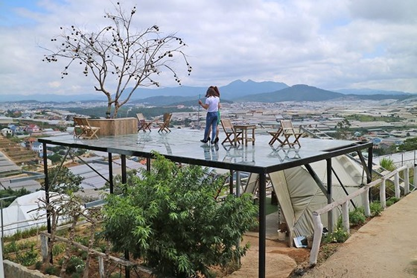 Da Lat city to tear down illegal buildings in popular check-in places ảnh 4
