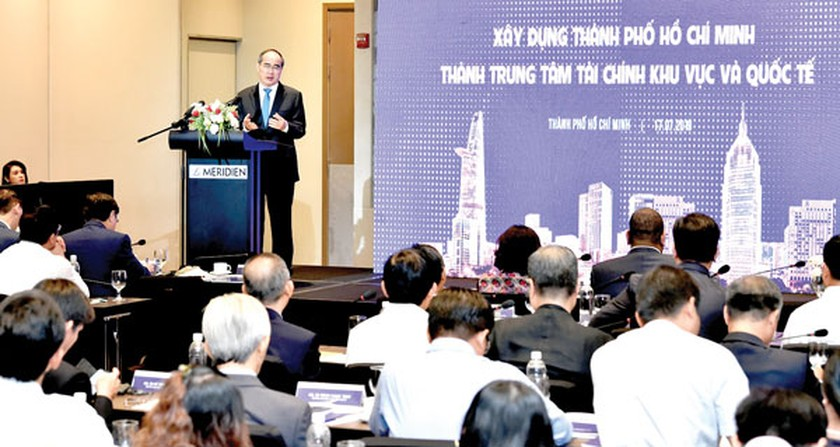 HCMC defines its target for becoming int'l financial center ảnh 1