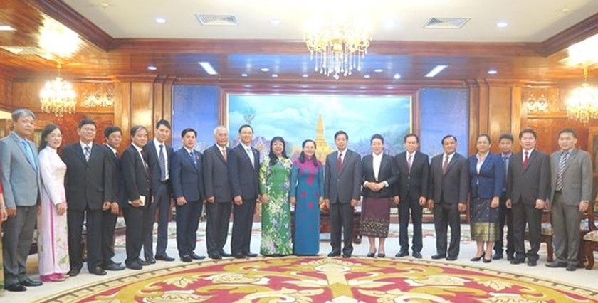 HCMC keens on boosting partnership with Vientiane ảnh 5
