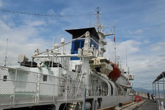 Japanese coastguard vessel makes 4th visit to Da Nang city ảnh 6
