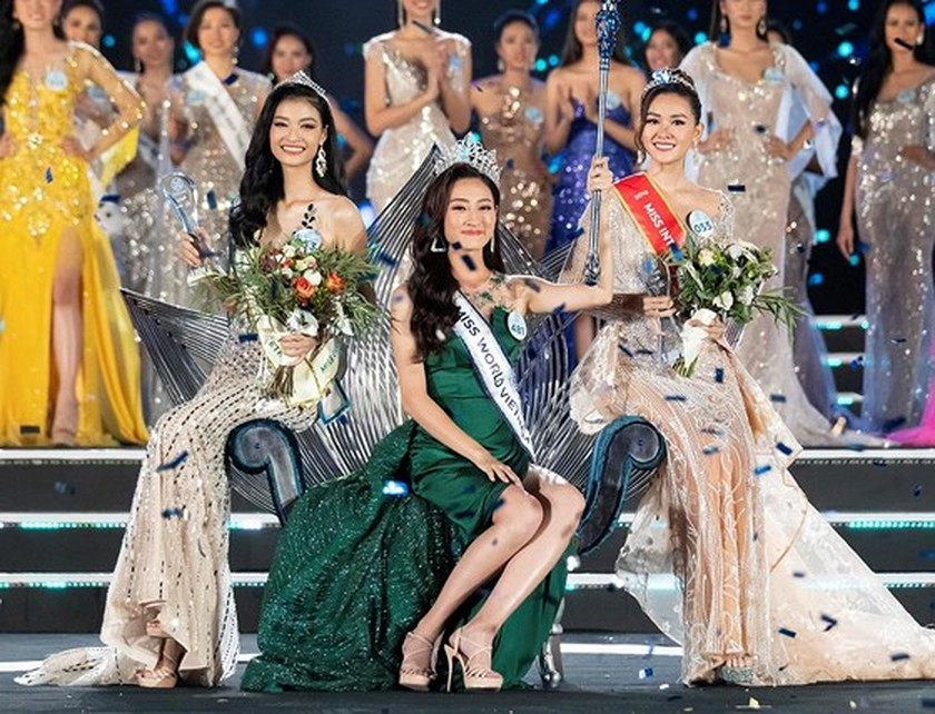 Luong Thuy Linh crowns Miss World Vietnam 2019 ảnh 2