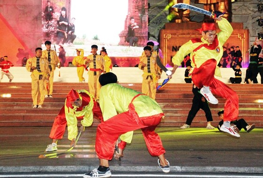 7th int'l traditional martial arts festival kicks off in Binh Dinh ảnh 9