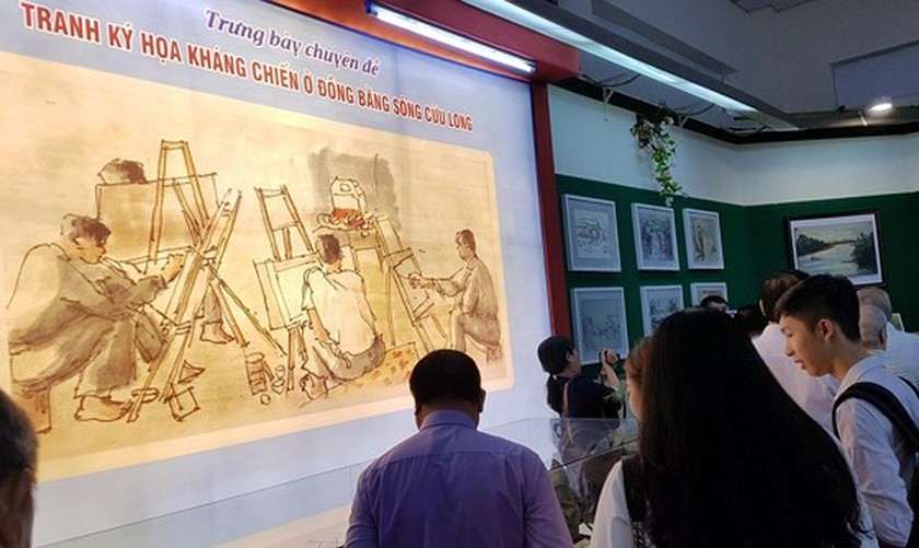 Exhibition celebrates 50-year implementation of late President's testament ảnh 3