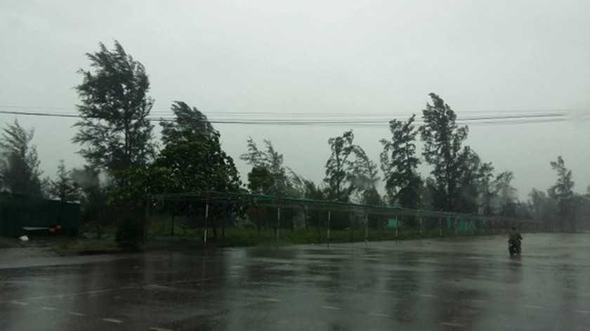 Typhoon Doksuri makes landfall in central provinces  ảnh 6