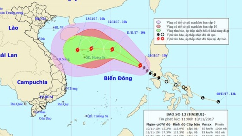 Central coastal provinces actively deal with typhoon Haikui ảnh 1