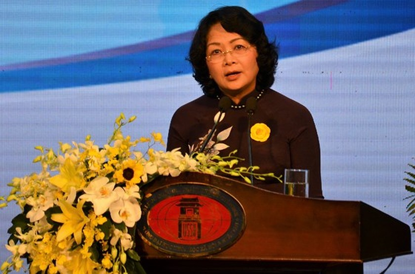 HCMC University of Social Sciences and Humanities marks 60th establishment ảnh 2