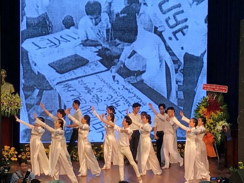 HCMC University of Social Sciences and Humanities marks 60th establishment ảnh 1