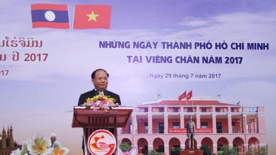 Tăng cường hợp tác giữa TPHCM và Thủ đô Viêng Chăn ảnh 1