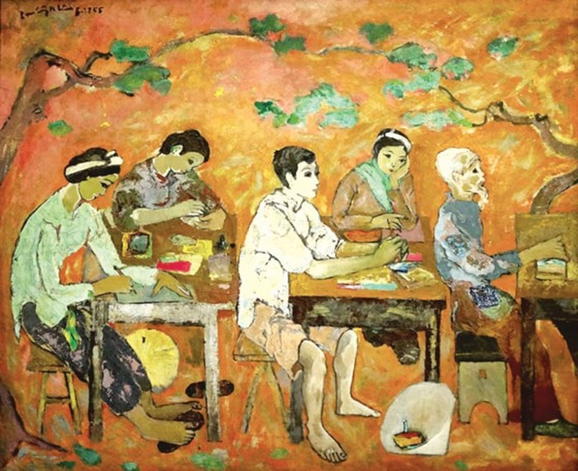 Exhibition commemorates late artist Luu Cong Nhan