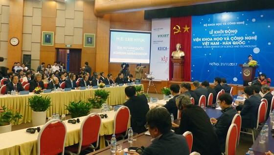 Khởi động Dự án hợp tác KH-CN Việt Nam - Hàn Quốc trị giá 70 triệu USD ảnh 1